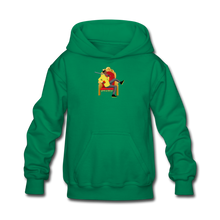 Load image into Gallery viewer, Paperboy Fly Kids' Hoodie - kelly green