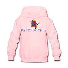 Load image into Gallery viewer, PaperboyFly Kids' Hoodie - pink