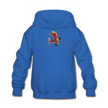 Load image into Gallery viewer, PaperboyFly Kids' Hoodie - royal blue