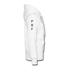 Load image into Gallery viewer, PBF Women's Premium Hoodie - white