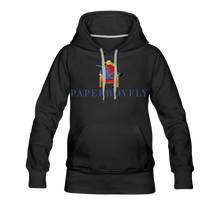Load image into Gallery viewer, PBF Women's Premium Hoodie - black