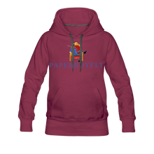 Load image into Gallery viewer, PBF Women's Premium Hoodie - burgundy