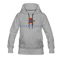 Load image into Gallery viewer, PBF Women's Premium Hoodie - heather gray