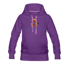 Load image into Gallery viewer, PBF Women's Premium Hoodie - purple
