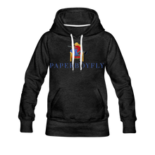 Load image into Gallery viewer, PBF Women's Premium Hoodie - charcoal gray