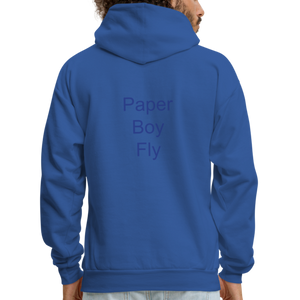 PaperboyFly Dots Men's Hoodie - royal blue