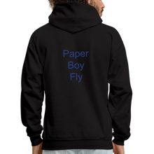 Load image into Gallery viewer, PaperboyFly Dots Men's Hoodie - black