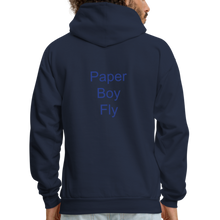 Load image into Gallery viewer, PaperboyFly Dots Men's Hoodie - navy