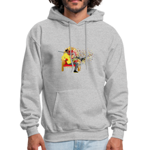 Load image into Gallery viewer, PaperboyFly Dots Men's Hoodie - heather gray