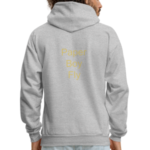 PaperboyFly Dots Men's Hoodie - heather gray