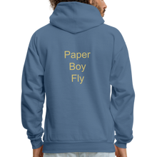 Load image into Gallery viewer, PaperboyFly Dots Men's Hoodie - denim blue