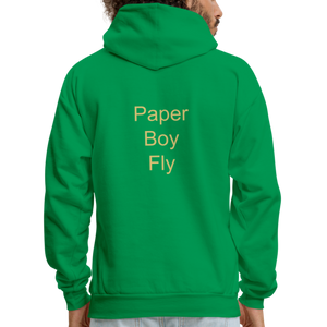 PaperboyFly Dots Men's Hoodie - kelly green