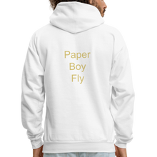 Load image into Gallery viewer, PaperboyFly Dots Men's Hoodie - white