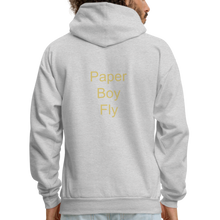 Load image into Gallery viewer, PaperboyFly Dots Men's Hoodie - ash