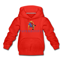Load image into Gallery viewer, PaperboyFly Kids' Premium Hoodie - red