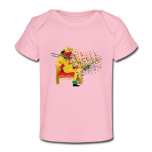 Load image into Gallery viewer, PaperboyFly Organic Baby T-Shirt - light pink