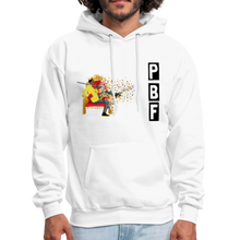 Load image into Gallery viewer, PaperboyFly Shatter Men's Hoodie - white
