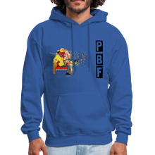 Load image into Gallery viewer, PaperboyFly Shatter Men's Hoodie - royal blue