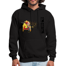 Load image into Gallery viewer, PaperboyFly Shatter Men's Hoodie - black