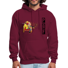 Load image into Gallery viewer, PaperboyFly Shatter Men's Hoodie - burgundy