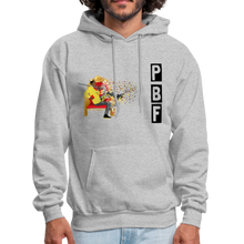 Load image into Gallery viewer, PaperboyFly Shatter Men's Hoodie - heather gray
