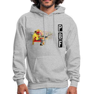 PaperboyFly Shatter Men's Hoodie - heather gray