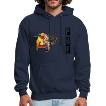 Load image into Gallery viewer, PaperboyFly Shatter Men's Hoodie - navy