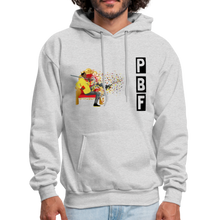 Load image into Gallery viewer, PaperboyFly Shatter Men's Hoodie - ash