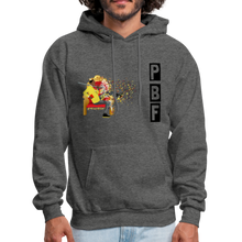 Load image into Gallery viewer, PaperboyFly Shatter Men's Hoodie - charcoal gray