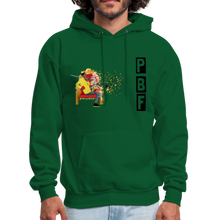 Load image into Gallery viewer, PaperboyFly Shatter Men's Hoodie - forest green