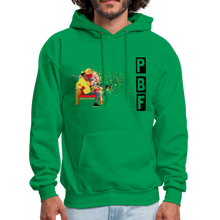 Load image into Gallery viewer, PaperboyFly Shatter Men's Hoodie - kelly green