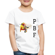 Load image into Gallery viewer, PaperboyFly Toddler Premium T-Shirt - white