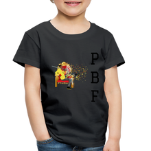 Load image into Gallery viewer, PaperboyFly Toddler Premium T-Shirt - black