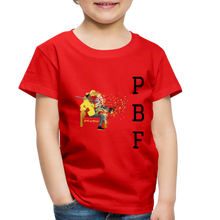 Load image into Gallery viewer, PaperboyFly Toddler Premium T-Shirt - red