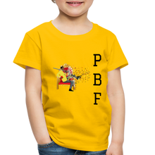 Load image into Gallery viewer, PaperboyFly Toddler Premium T-Shirt - sun yellow