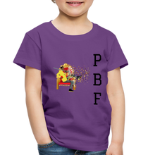 Load image into Gallery viewer, PaperboyFly Toddler Premium T-Shirt - purple