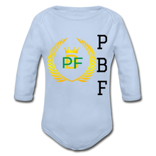 Load image into Gallery viewer, PaperboyFly Long Sleeve Baby Bodysuit - sky