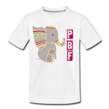 Load image into Gallery viewer, Elephant Toddler Premium T-Shirt - white