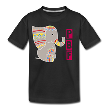 Load image into Gallery viewer, Elephant Toddler Premium T-Shirt - black