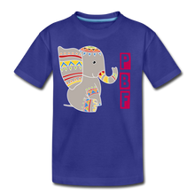 Load image into Gallery viewer, Elephant Toddler Premium T-Shirt - royal blue