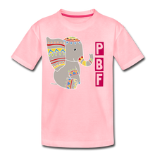 Load image into Gallery viewer, Elephant Toddler Premium T-Shirt - pink