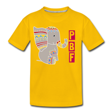 Load image into Gallery viewer, Elephant Toddler Premium T-Shirt - sun yellow