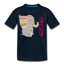 Load image into Gallery viewer, Elephant Toddler Premium T-Shirt - deep navy