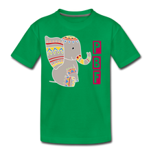 Load image into Gallery viewer, Elephant Toddler Premium T-Shirt - kelly green