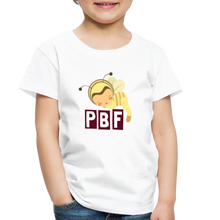 Load image into Gallery viewer, PaperboyFly Short Sleeve Toddler T-Shirt - white