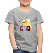 Load image into Gallery viewer, PaperboyFly Short Sleeve Toddler T-Shirt - heather gray