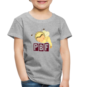 PaperboyFly Short Sleeve Toddler T-Shirt - heather gray