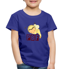 Load image into Gallery viewer, PaperboyFly Short Sleeve Toddler T-Shirt - royal blue