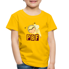 Load image into Gallery viewer, PaperboyFly Short Sleeve Toddler T-Shirt - sun yellow