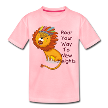 Load image into Gallery viewer, PBF Lion Toddler Premium T-Shirt - pink